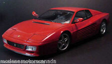FERRARI 512 TR RED 1:18 by KYOSHO BRAND NEW 1ST RELEASE NEVER REMOVED FROM BOX