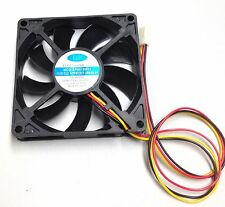 BP8015M12 FAN 12V DC 3P 80mm 80 x  15mm 10 wires 3 Pin terminal connector 1pc