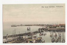 Folkestone, The Inner Harbour Postcard, A673