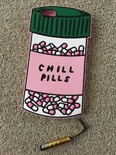 Chill Pills Bottle Cute Pink Soft Gel Case Phone Cover for iPhone 6S Plus