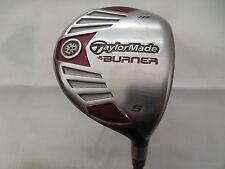 Taylormade Burner Steel 18* 5 Fairway wood REAX 50 Regular flex Graphite RH Used
