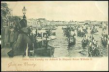 1900 - Venezia - Arrivo del Kaiser Wilhelm II