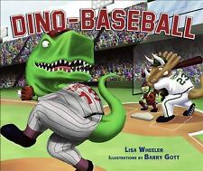 Dino-Baseball by Lisa Wheeler (2010, Hardcover)