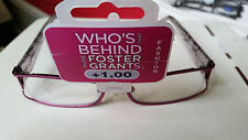 FOSTER GRANTS FASHION READING GLASSES +1.00