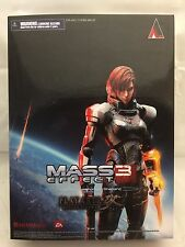 Mass Effect 3 Female Shepard Play Arts Kai Figure! Brand New & Sealed! RARE!