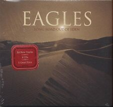 EAGLES - Long road out of eden - 2 CD 2007 DIGIPACK SIGILLATO SEALED