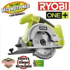 Ryobi P501G ONE+ 18-Volt Lithium-Ion Circular Saw ZRP501G Reconditioned