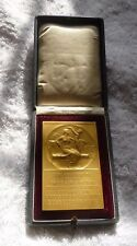 ANTIQUE  GERMAN MEDAL IN BOX  GERMANY INT HORTICULTURE EXPO DUSSELDORF 1904
