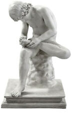 "Roman Boy with Thorn Museum statue 33"" Museum Sculpture Replica Reproduction"