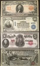 Replica Copies US Currency Set #1 Washington Jackson McKinley 1896-1907