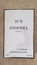 New Sealed Chanel No5 No 5 Paris Eau De Parfum Spray EDP 100 ml 3.4 fl oz