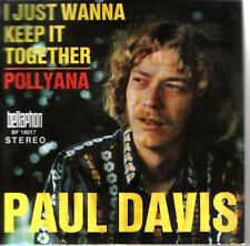 "7"" Cover Paul Davis I Just Keep It Together / Pollyana (Bellaphon) Only Cover"