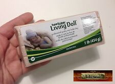 M00093 MOREZMORE Living Doll BABY 1 lb Polymer Oven-Bake Clay Super Sculpey T20A