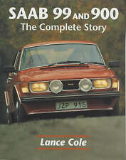 SAAB 99 & 900 THE COMPLETE STORY, CAR BOOK jm