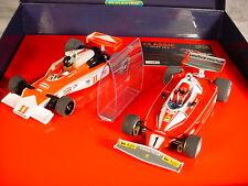 Scalextric CLASSIC GP Set Hunt, LAUDA McLaren M23, FERRARI 312T3 C2558A MB