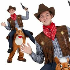 Carry Me Piggy Back Horse Funny Adults Mascot Fancy Dress Up Stag Party Costume
