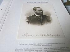 Wien Archiv 10 Wirtschaft 5066 Carl von Auer 1858-1929 Gasglühstrumpf