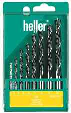 Heller 8 piece CV Brad Point Wood Bit Set 3mm - 10mm * High Quality German Tools
