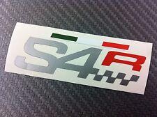 1 Adesivo Stickers DUCATI S4 R fianchetto serbatoio silver e red