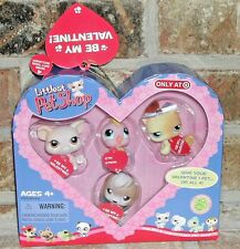 Littlest Pet Shop HEART VALENTINE w tags Exclusive 275 276 277 278 HTF BEAGLE