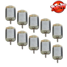 10Pcs Mini Motor 130 DC Carbon Brush Toy Motor For Type 3V-6V DC Motor Toy DIY B