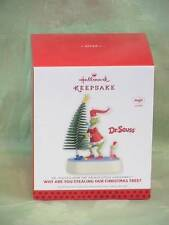Hallmark ~ Why Are You Stealing Our Christmas Tree? ~ Dr. Seuss's Grinch ~ 2013