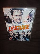 Leverage - Season 2 - Complete (DVD, 2011, 4-Disc Set)