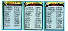 1X MARKED CHECKLIST 1979 80 O Pee Chee #131 EX opc Lots Available