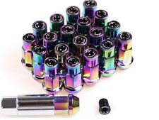 ZERG 7075 Aluminum Extended 7-Sided Lock LUG NUTS 12X1.5 Set of 20 (NEO)