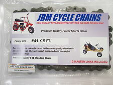 Go Kart Mini Bike Chain  41 x 5ft. PRO-GRADE Power- Sports Chain