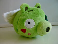 "Angry Birds Plush Pig with Wings Cupid Valentines Seasons Stuffed 5"" NEW NWT"