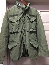Authentic Army Field Jacket Men's Small Regular 0G – 107 Liner 042316