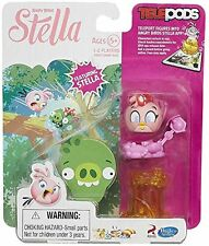 Angry Birds STELLA Telepods Mini Figure Toy Pink Bird Video Game Accessory NEW