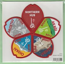 2015 world scout jamboree Japan / Scout Shop official NORTHERN HUB patch badge