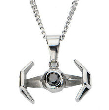 Star Wars 7 The force Awakens TIE Fighter Pendant Necklace Charms