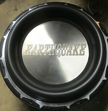 "New PAIR Old School Earthquake Subzero DVC 15"" Comp Subwoofers,RARE,USA,SPL"