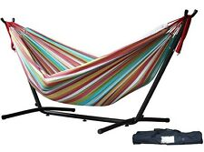 Vivere s Combo - Double Salsa Hammock with Stand (9ft) -UHSDO9-26 NEW