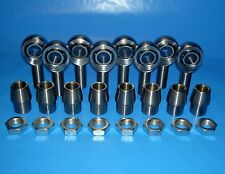 "4-link kit 7/8 x 7/8"" Bore, Chromoly, Rod End, Heim Joint, (Bung 1-3/4 /.120)"