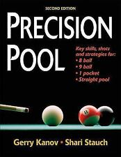 Precision Pool, 2nd Edition, Shari Stauch, Gerry Kanov, Good Book