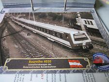 Lokarchiv Triebwagen 95 Baureihe 4020 Schnelltriebwagen ÖBb Österreich
