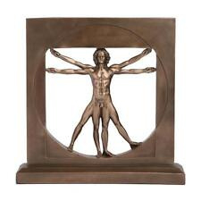 Figurine Leonardo Da Vinci Vitruvian Man Study of Proportion Veronese Home Decor