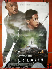 After Earth {Will Smith} 40X27 Original Folded Movie Poster 2013