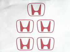 x5 Honda H Centre Cap Stickers/Decals for Honda Civic/CRX/Integra/S2000
