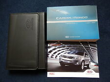 KIA CARENS RONDO HANDBOOK OWNERS MANUAL 2013-2015 PRINT 2013