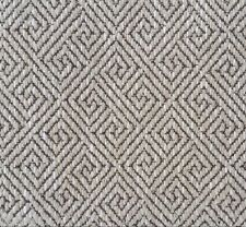 VALDESE WEAVERS DURABLE GEOMETRIC WOVEN UPHOLSTERY FABRIC TURNSTILE/FLAX  BTY