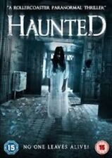 Haunted (DVD) NEW AND SEALED, HORROR,2015 paranormal