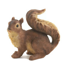 Curious Squirrel Garden Statue Lawn Ornament Yard Decor Outdoor Garden Art