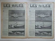 AILES 1936 797 SEVERSKY BT-8 RWD-XI AVIATION MARITIME AMIOT 110 CHERBOURG POU