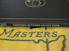 RARE 1984 MASTERS GOLF ANNUAL AUGUSTA NATIONAL VERY NICE BEN CRENSHAW PGA WOODS