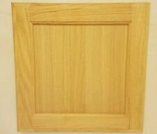 Natural Oak Recessed Panel 13 X 13 Unfinished Stain Grade Cabinet Door w/Hinges